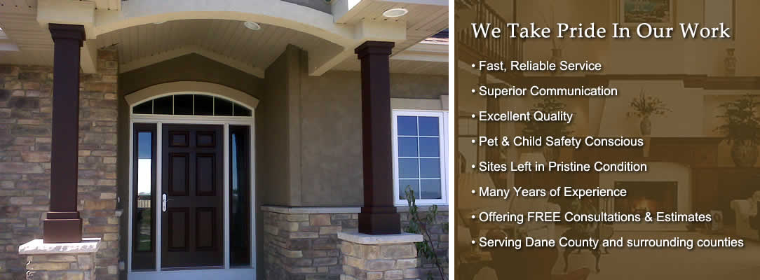 Danny 39 s painting services waunakee interior exterior painter wisconsin - Interior exterior painting services set ...